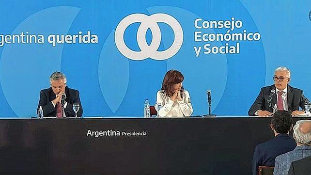 Otra vez juntos, Alberto Fernández y Cristina Kirchner encabezaron anuncios para el campo