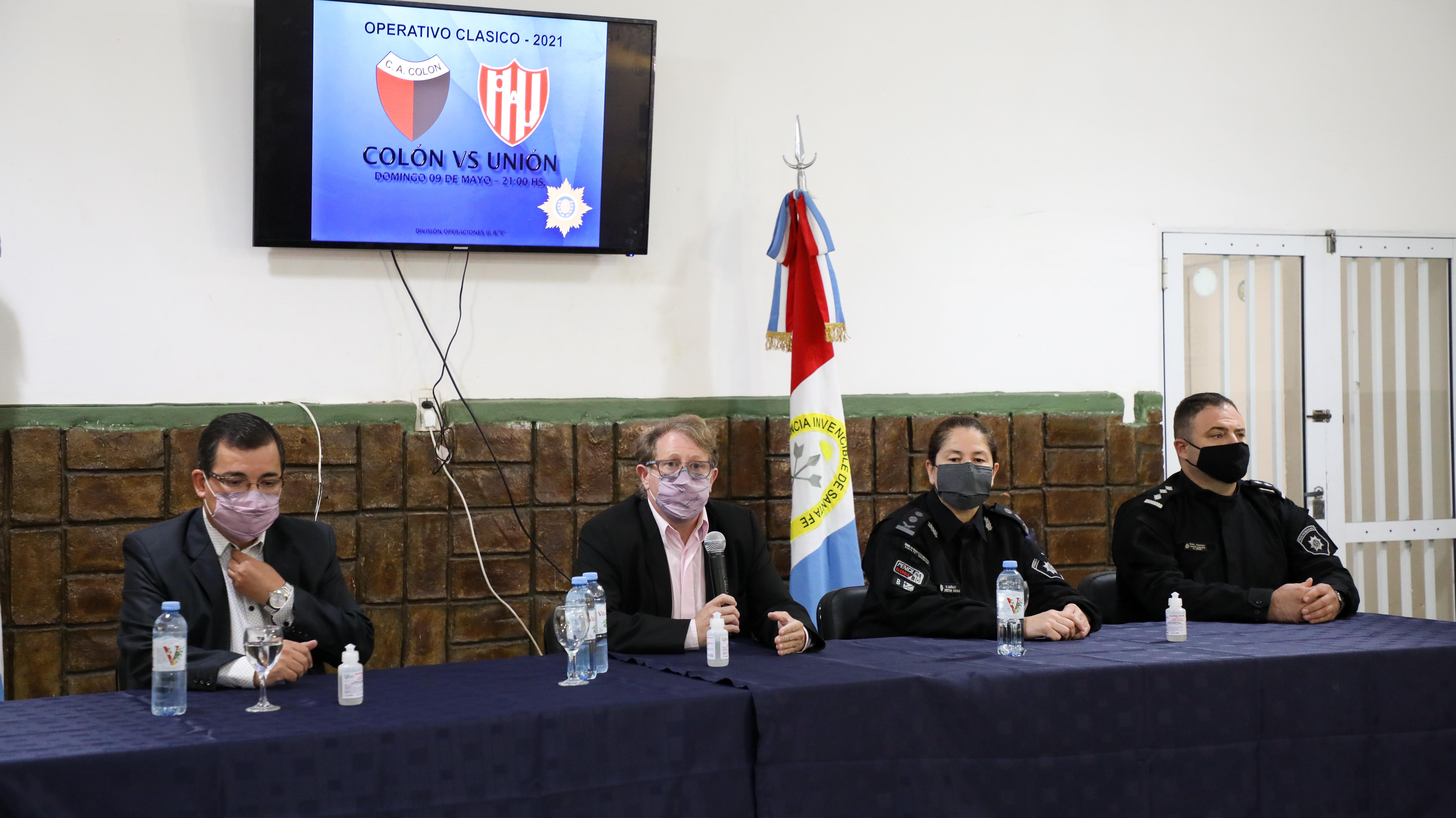 La provincia realizó la reunión operativa por el clásico santafesino